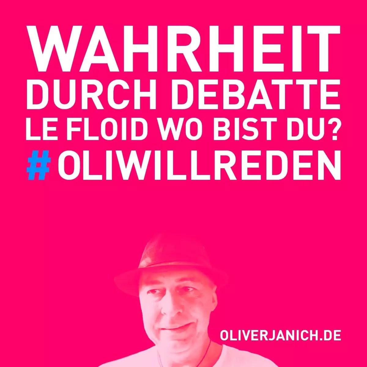 #OliWillReden Klimadebatte Oliver Janich Klimawandel #Rezo Propaganda Meinungsfreiheit LeFloid
