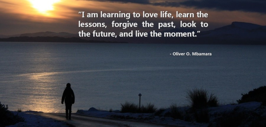 I am learning to love life