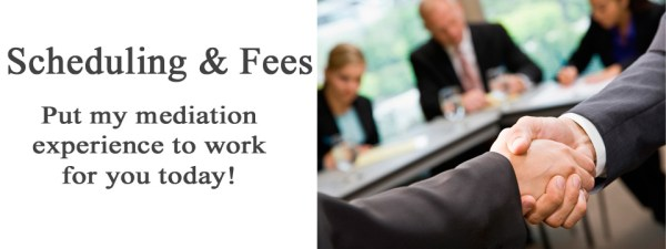 Mediation Fees and scheduling2