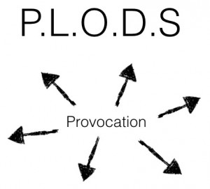 PLODs diagram - all possibilities start with a provocation