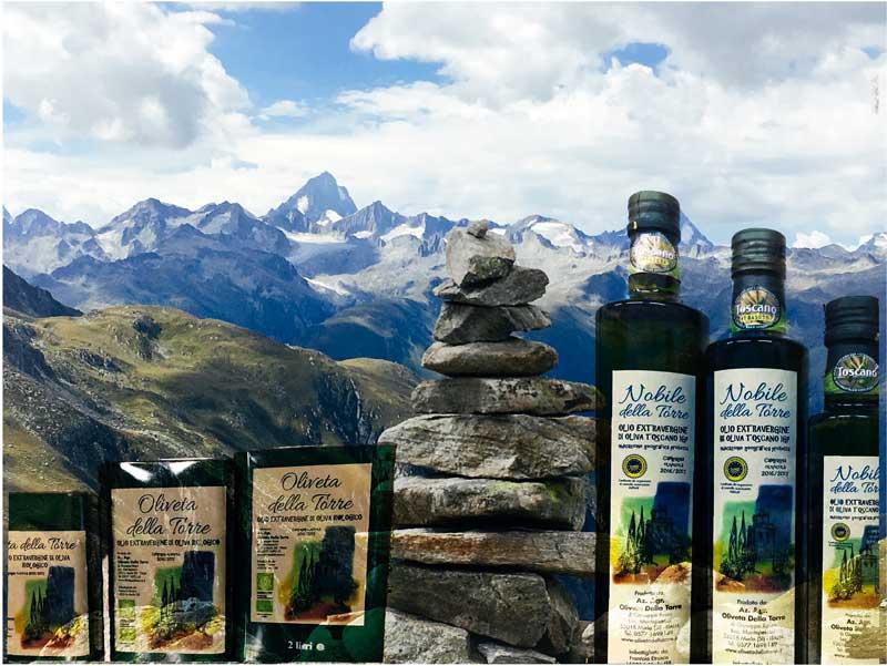 L'olio evo sulle Alpi svizzere