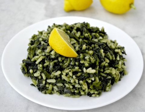 Image result for spinach rice