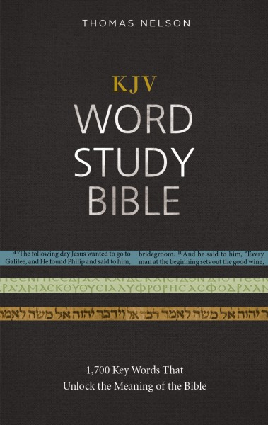 KJV Word Study Bible With KJV Strongs By Thomas Nelson For The Olive Tree Bible App On IPad