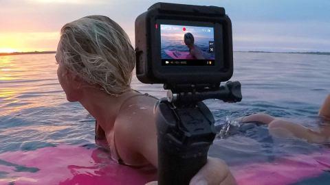 GoPro Hero 6 Black grava 4k em 60fps