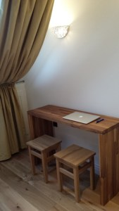 Designer Desk in Bedroom is ideal for Study, Work or Relaxation