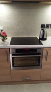 Ultra Modern Induction Cook-top with 4 rings for convenience and latest technology