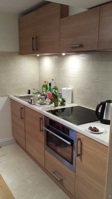Generous Living Area includes an ultra modern, well equipped kitchen