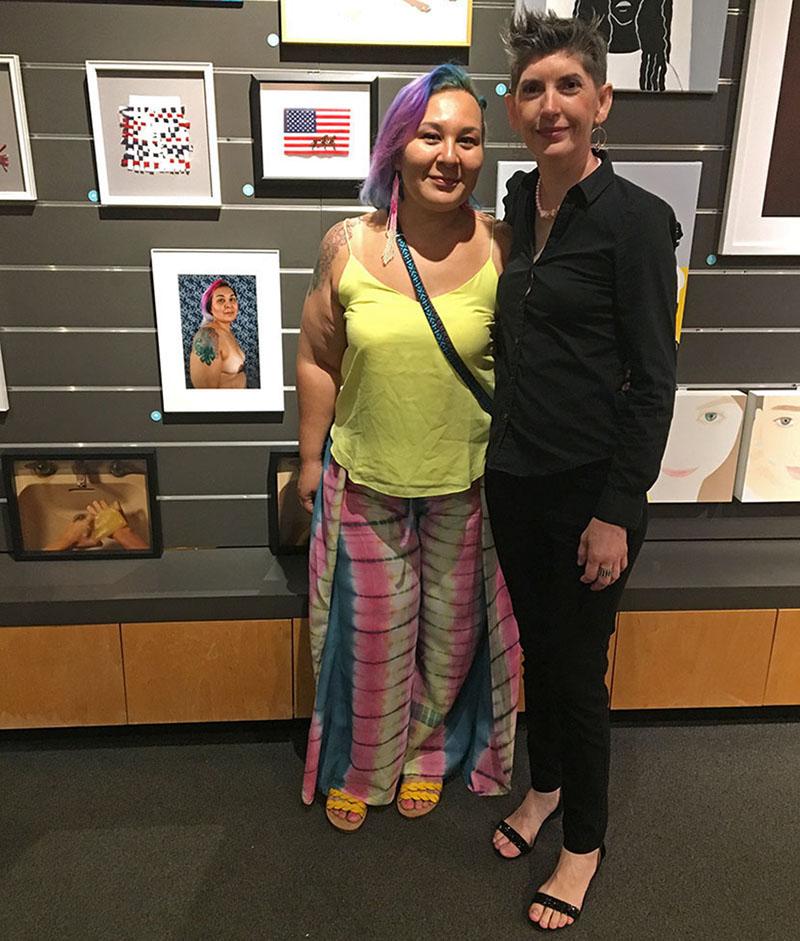 Inauguración de la exposición Texas Vignette 2019 en The Women's Museum de Dallas, Texas.