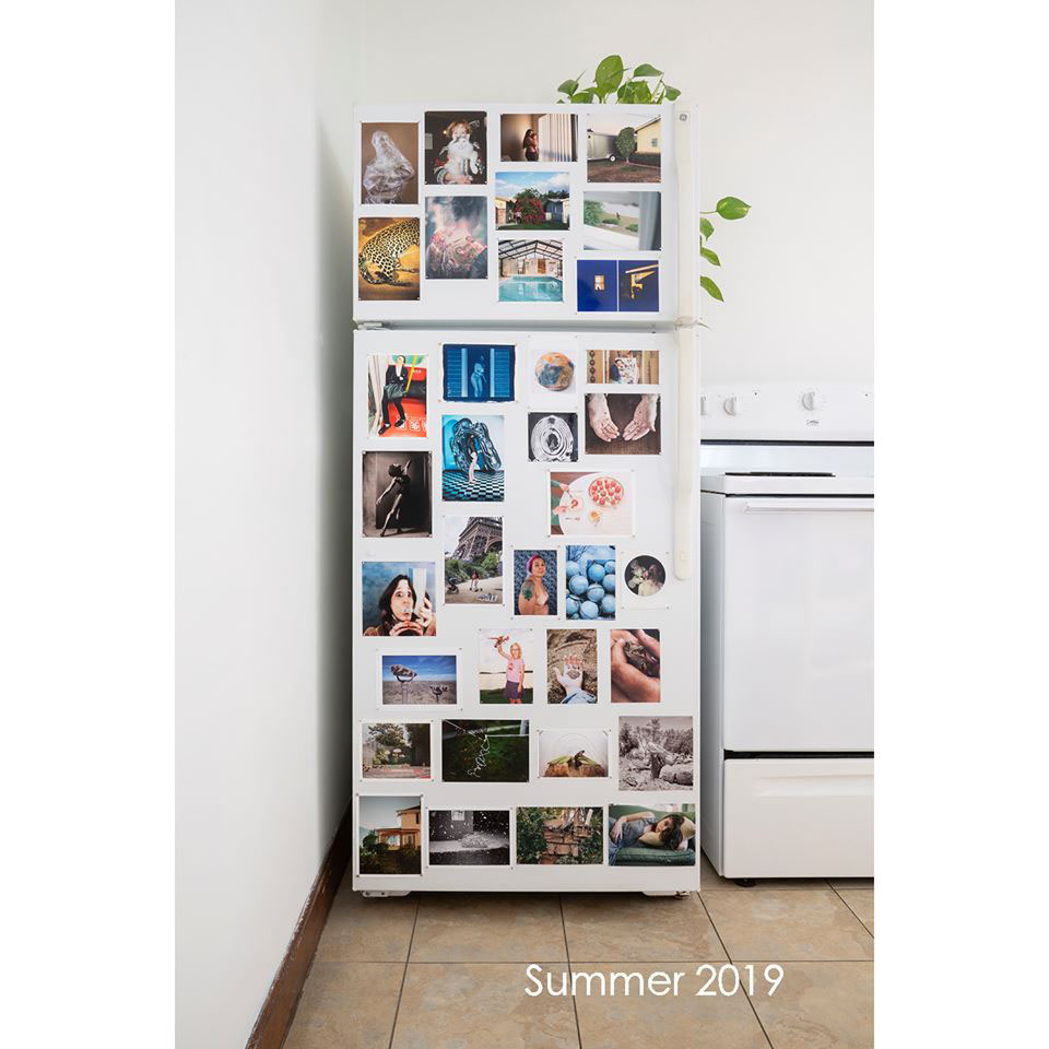 Imágenes de la exposición The Curated Fridge Summer 2019