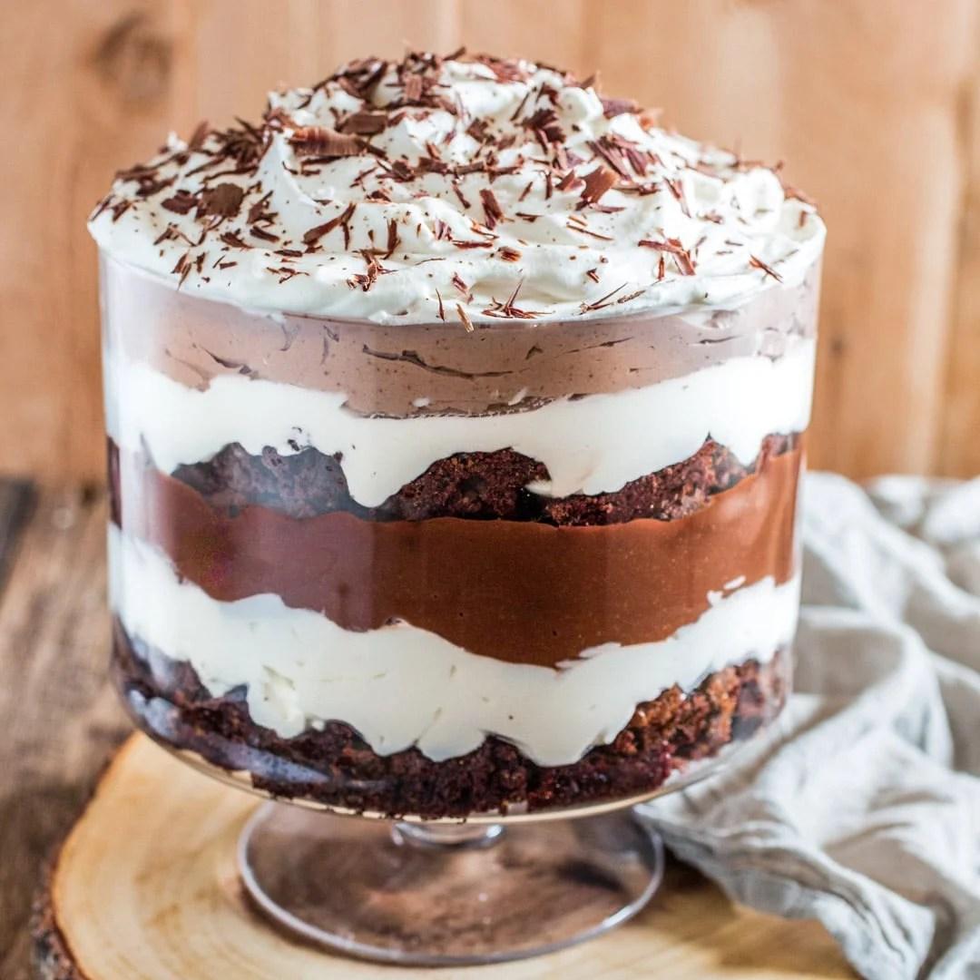 Brownie Trifle Olivia S Cuisine