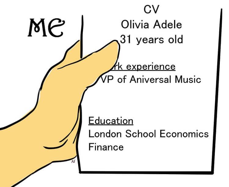 Olivia's CV