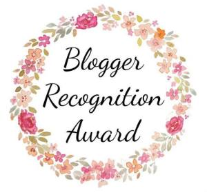 Blogger Recognition Award - Olivia's New Life
