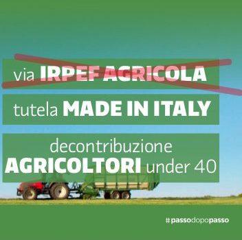 Legge di bilancio 2017: via l'Irpef agricola