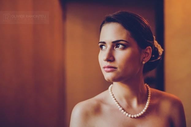 Photographie de la mariée