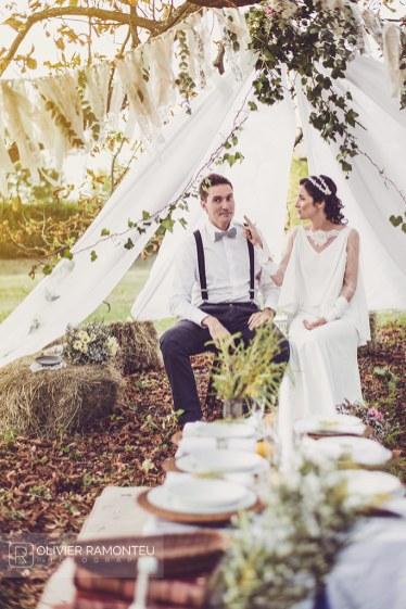 photographie mariage le mariée