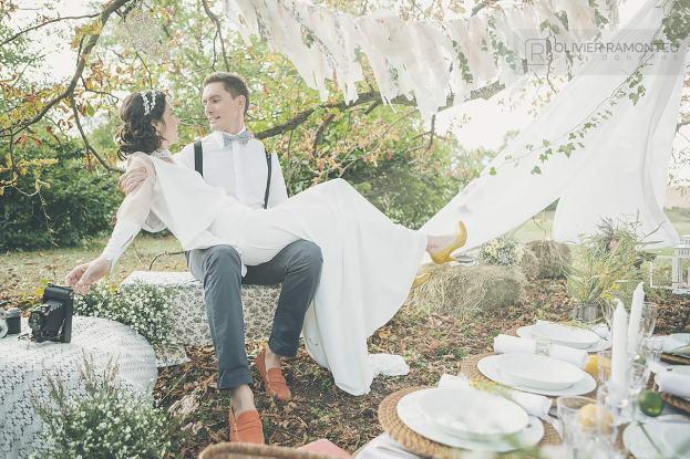 photographie mariage les mariés