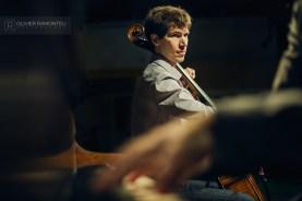 photo violoncelliste concert