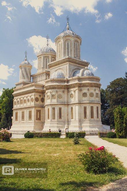 photo de roumanie, monastère orthodoxe