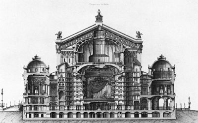 The Opera Garnier, a challenging building