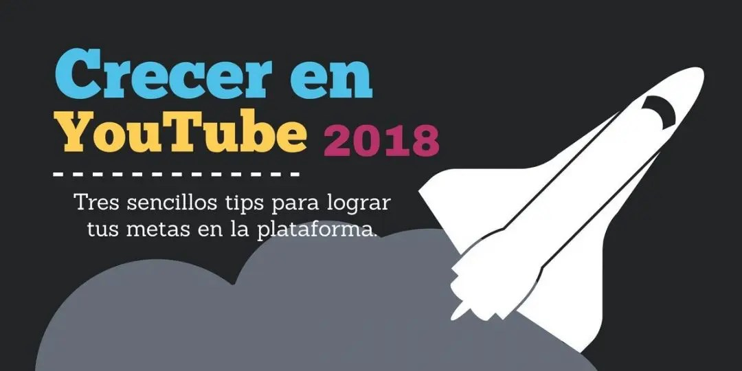 Crecer en youtube 2018