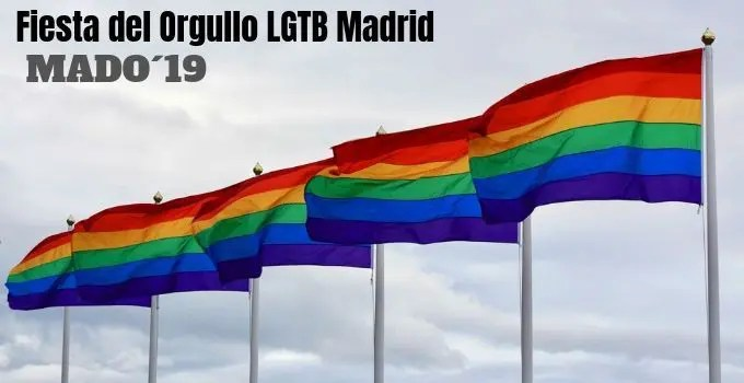 Mado Orgullo Gay 2019. Madrid.