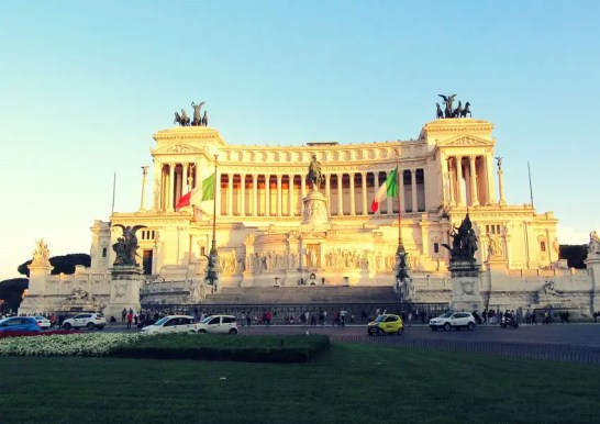Monumento a Victor Manuel II. Roma