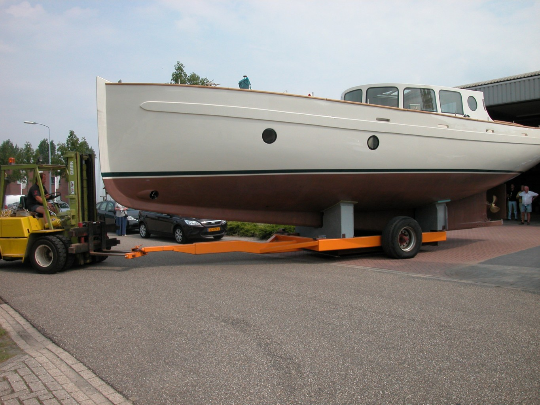 Motor Sailer Yacht Design