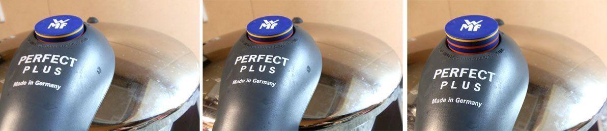 posiciones indicador de presion WMF Perfect Plus