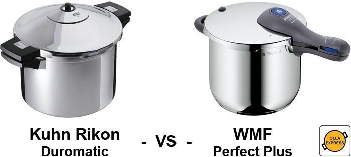 WMF Perfect Plus - Kuhn Rikon Duromatic