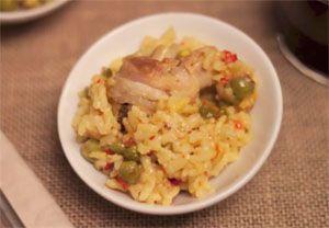 arroz con pollo olla rapida WMF perfect