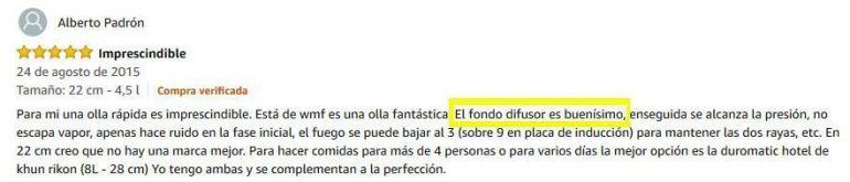wmf perfect opiniones en Amazon