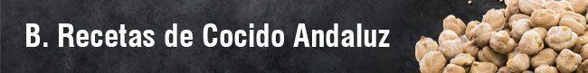 Recetas de Cocido Andaluz