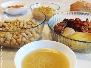 cocido castellano de la cocina de rebeca