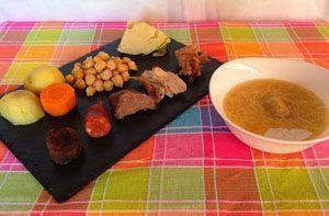 cocido madrileño de tomillo laurel y otras cosas de comer