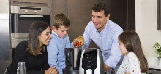 cocinar con el robot de cocina Mambo