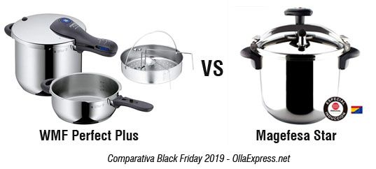WMF Perfect Plus VS Magefesa STar - Black Friday 2019