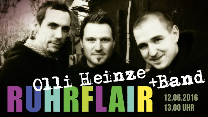 Olli Heinze + Band RUHRFLAIR