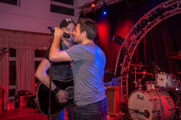 Mit Thomas Heinen (BOSSTIME - Bruce Springsteen Tribute Band) Foto: shuiro GmbH