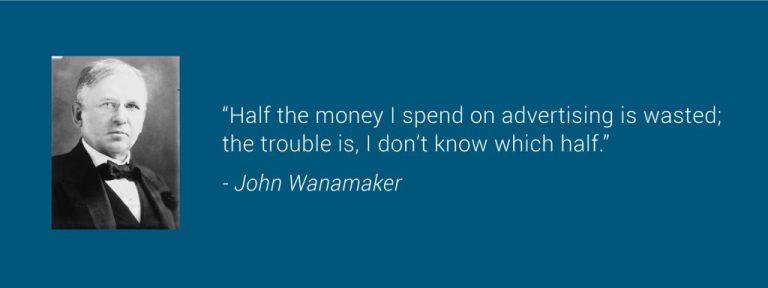 John Wanamaker Quote - Marketing & Advertising