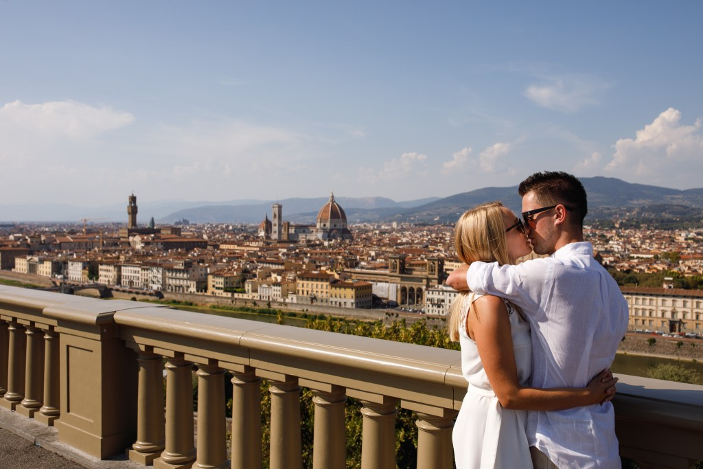 Jack & Sophie's Pre Wed Shoot in Florence