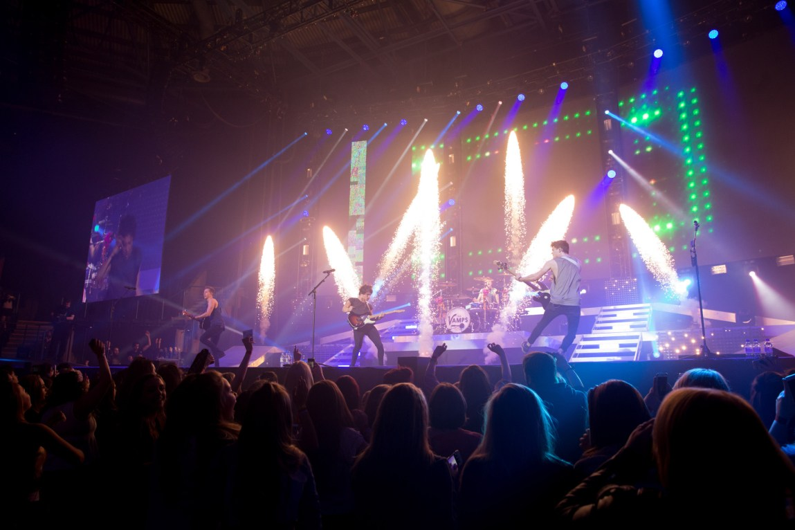 The Vamps Nottingham Arena by Olly Stabler IMG_4590