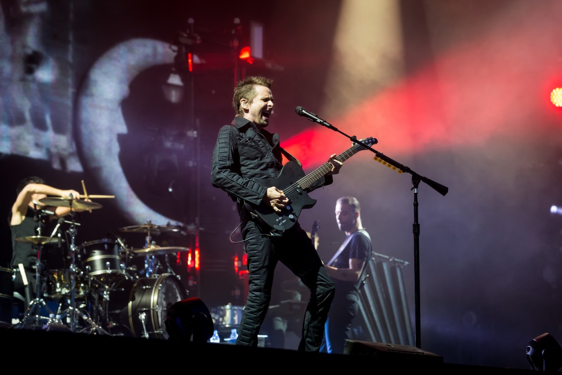 Muse at Download Festival, Britain,13th June 2015