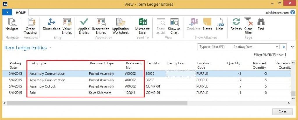 Item-Ledger-Entries-Assemble-to-Order-Dynamics-NAV