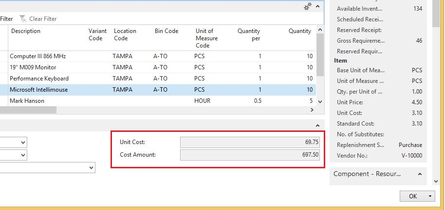 Assembly-Order-Unit-Cost-Dynamics-NAV