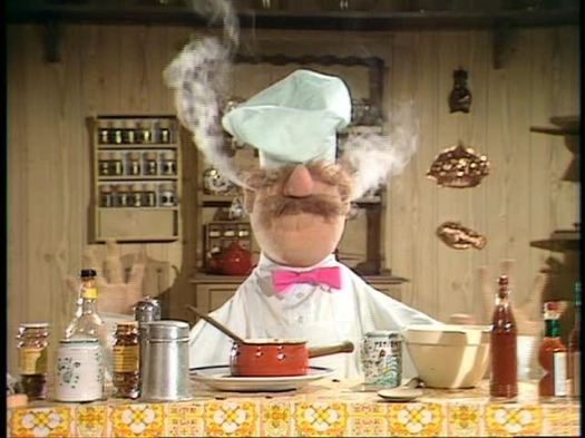 Image result for swedish chef angry