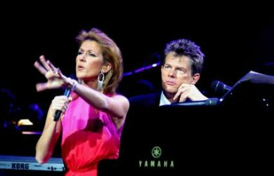 Video David Foster Celine Dion Love Lights The World