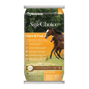 Nutrena SafeChoice Mare & Foal Pellet Horse Feed