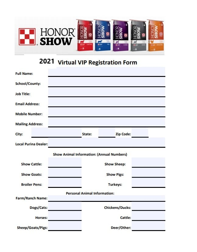 Show VIP Signup Form