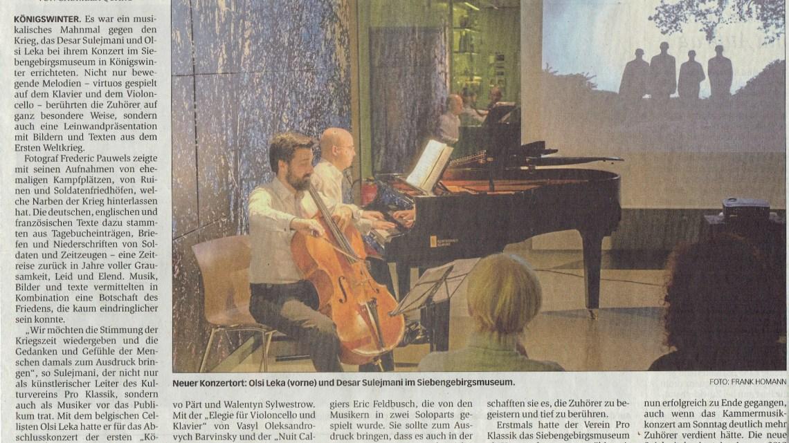 [Press article: Köningswinter DE*]