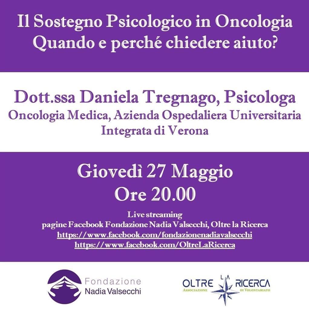 Il sostegno psicologico in oncologia